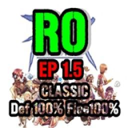 เซิฟ Ragnarok EP 1.5 Classic แบบเก่า สไตล์วัยรุ่นยุค 90
