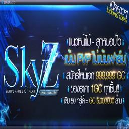 เซิฟ SkyZ หน้าไม้ - ลุกหมอบไว  เซิฟออนไลน์ตามปกติ คนออน