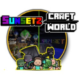 เซิฟ Sunsetz CraftWorld V1.8+